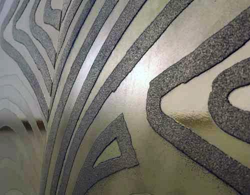 Pareti Doro : Nuova linea pareti d oro di refin ceramiche bagnoidea