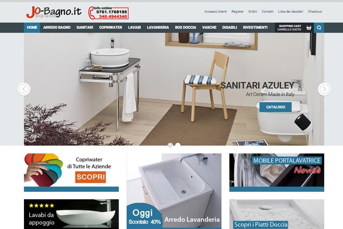 Beautiful arredo bagno shop online contemporary idee for Arredo shop online