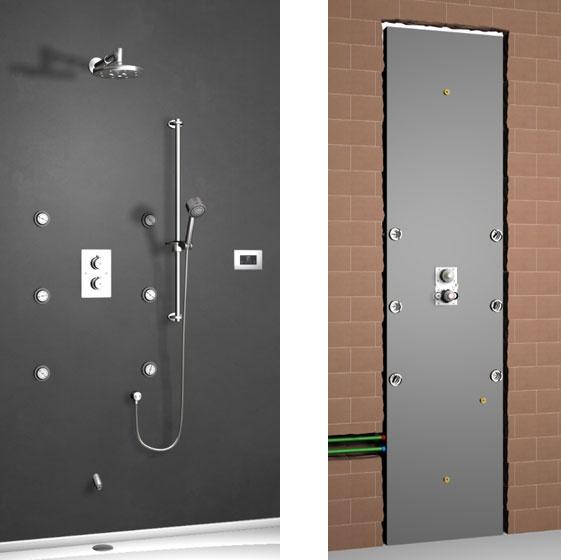 Pannello Shower Spa di Nobili Rubinetterie. Per installare la ...
