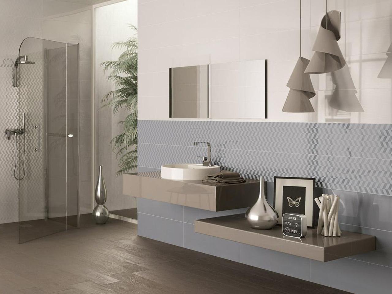 Bagnoidea prodotti e tendenze per arredare il bagno - Altezza rivestimenti bagno ...