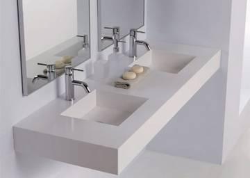 Vasca Da Bagno Sottopiano : Piano con lavabi sottopiano rettangolari midioplan ponte giulio