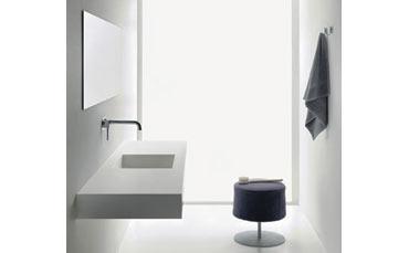 Ponte giulio presenta nuovi lavabi bagno midioplan su misura