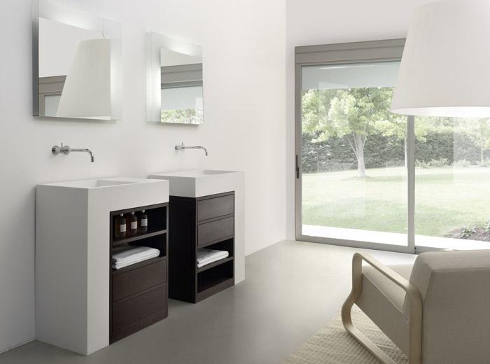 Rapsel presenta la nuova linea Elle: un lavabo, un mobile, un piano ...