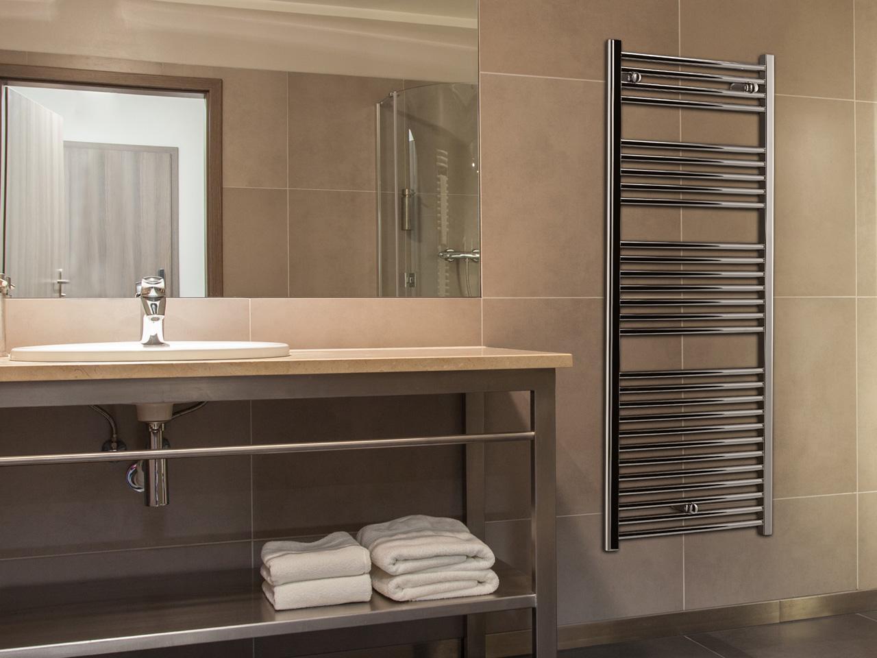 Come riscaldare il bagno senza rinunciare al design - Riscaldare il bagno ...
