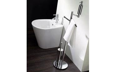 Design rubinetti bagno fluid di fima carlo frattini ville e
