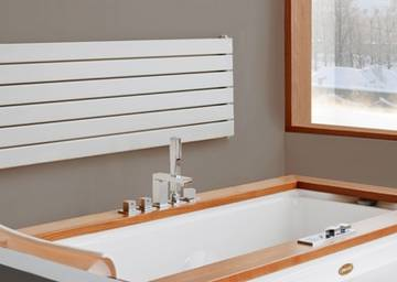 Radiatori d arredo e caloriferi design termosifoni - Scaldare il bagno elettricamente ...