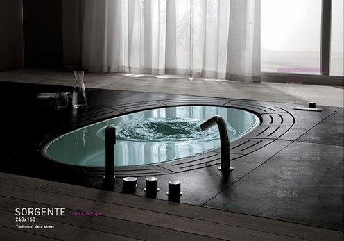 Vasca Da Bagno Incasso Teuco : Teuco presenta la vasca sorgente con sistema di ricircolo dell