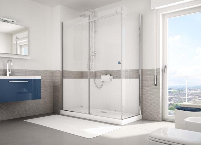 Trasformare la vasca in doccia in ore con g magic di grandform