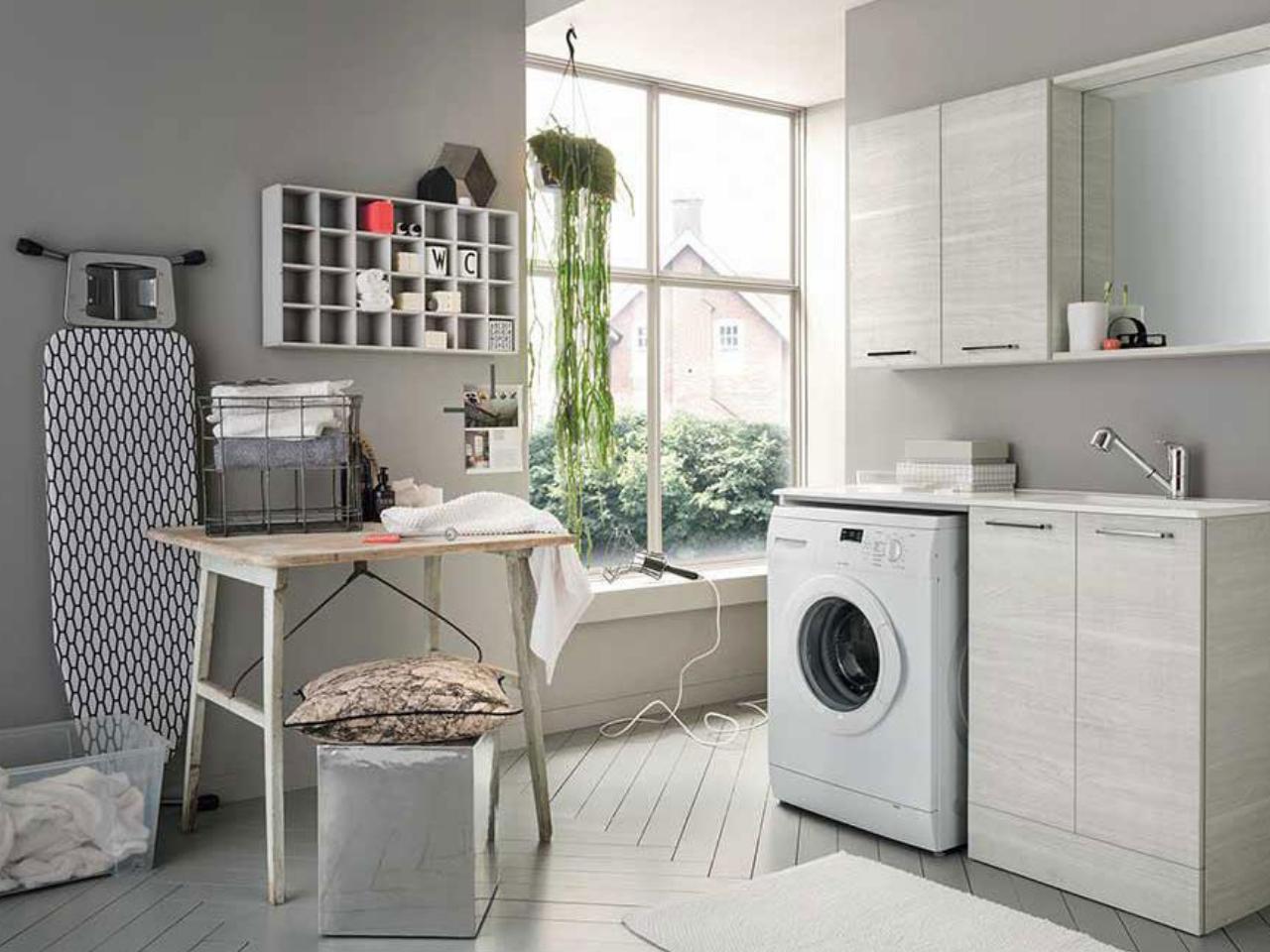 Bagnoidea prodotti e tendenze per arredare il bagno for Lavanderia in casa