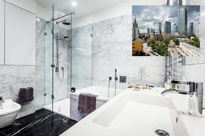 Varsavia, Cosmopolitan Tower: Le Vasche Da Bagno E I Piatti Doccia Smaltati  Di Kaldewei Per Nuovi Appartamenti Di Lusso