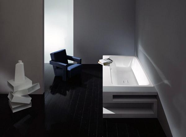 Vasca Da Bagno Kaldewei : Vasca da bagno asymmetric duo di kaldewei: lestetica dell