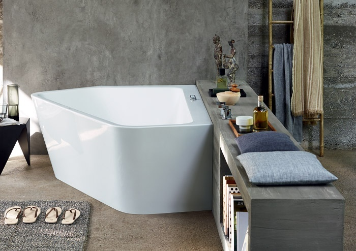 Vasca Da Bagno Duravit : Vasca da bagno paiova 5 di duravit: fare il bagno in una nuova
