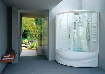 Vasca doccia combinata flexa twin jacuzzi