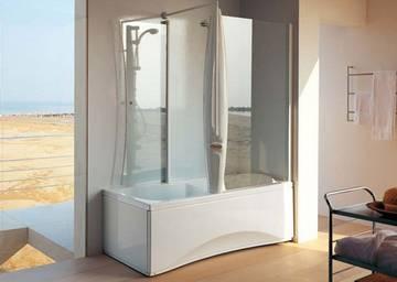 Vasca da bagno con doccia vasca e doccia combinate bagnoidea - Vasche da bagno combinate con doccia ...