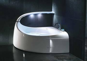 Vasca idromassaggio ad incasso aura uno jacuzzi - Vasche da bagno combinate ...