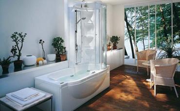 Bagnoidea prodotti e tendenze per arredare il bagno - Vasche da bagno combinate ...