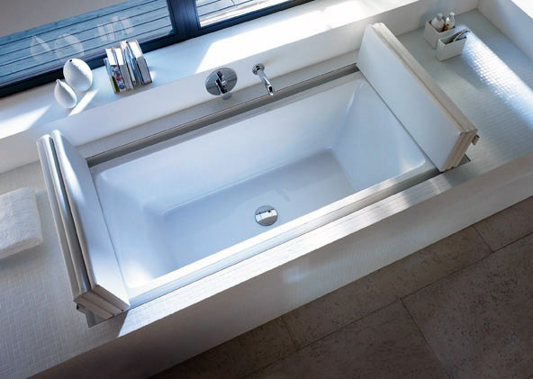 Un posto per sognare: nuove versioni da incasso per le vasche da ...