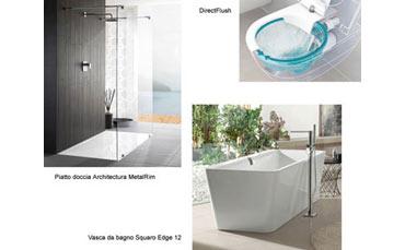 Vasca Da Bagno Villeroy Boch Prezzi : Vasca da bagno rettangolare squaro slim villeroy boch