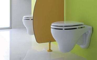 Wc bambini: mini sanitari per asili, bidet e water piccoli