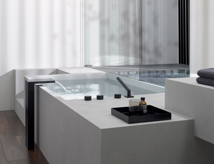 Rubinetti Per Vasca: Nostalgia retro 5 buco rubinetto per vasca da bagno lavabo sanlingo ...