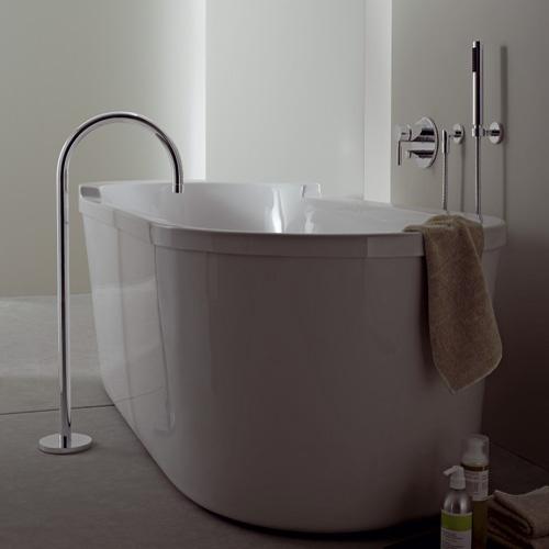 Bocca per vasca da bagno con tubo verticale Tara .Logic | Dornbracht