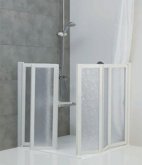 Box doccia basso per disabili e anziani ponte giulio s p a - Box doccia anziani ...