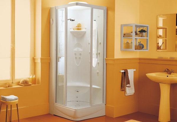 Box doccia con idromassaggio epos jacuzzi for Box doccia con idromassaggio