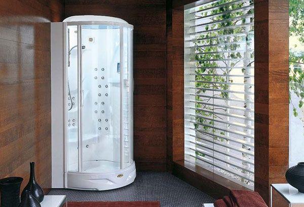 Box doccia con idromassaggio flexa thema jacuzzi