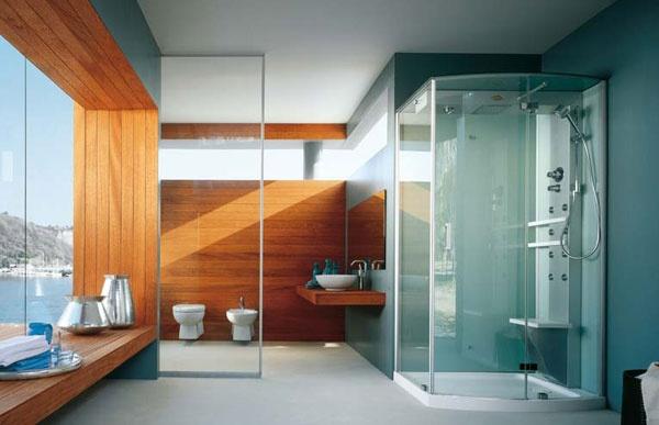 Box doccia con idromassaggio mynima jacuzzi