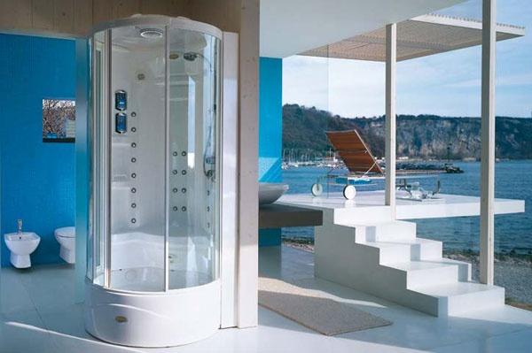 Box doccia multifunzione flexa tower jacuzzi