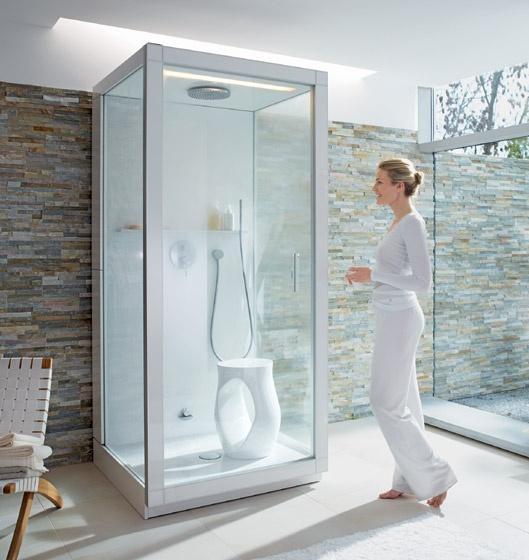 Cabina doccia bagno turco St.Trop | Duravit