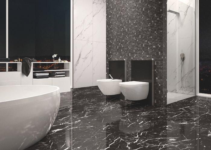 Gres porcellanato effetto marmo marmoker 3 casalgrande - Piastrelle casalgrande padana ...