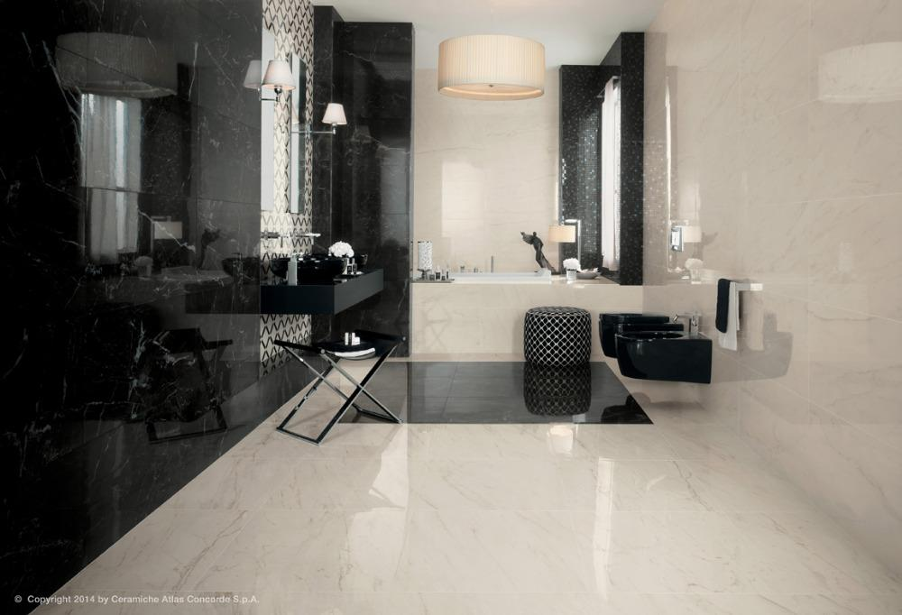 Gres porcellanato effetto marmo marvel pro cromo - Piastrelle gres porcellanato effetto marmo ...