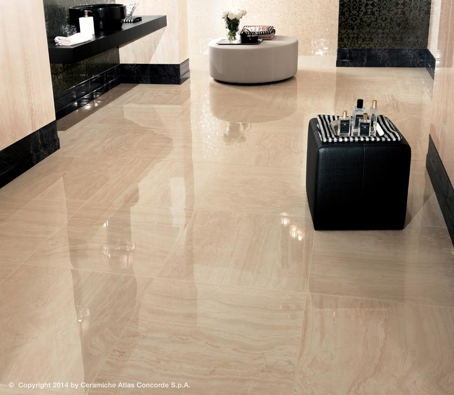 Piastrelle finto marmo idee immagine mobili for Piastrelle finto marmo