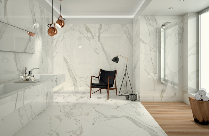Gres porcellanato project evolution anima calacatta oro