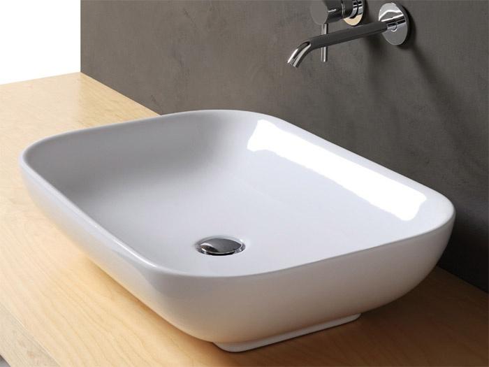 Lavabi da appoggio go 40 50 70 stile - Lavandini da incasso bagno ...