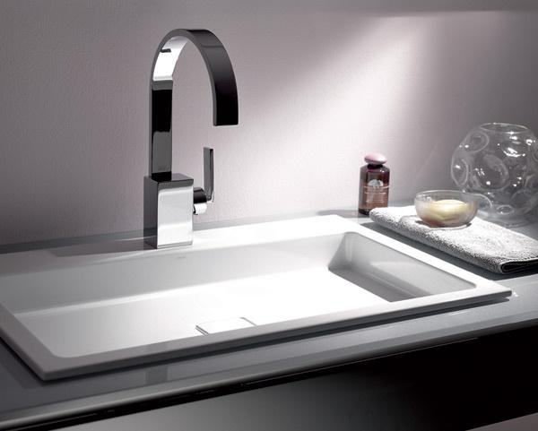 Lavabo rettangolare da incasso eb re alape for Prezzi lavabo bagno