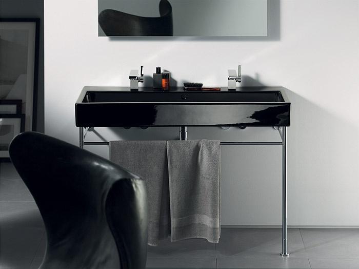 Lavabo Vero - nero | Duravit