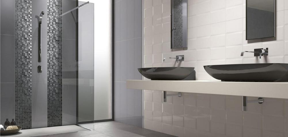 Rivestimento da bagno Melody - Grey/White | Ceramiche Supergres