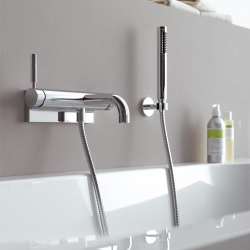 Miscelatore monocomando esterno per vasca da bagno Tara .Logic ...