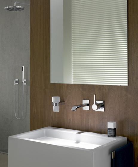 Miscelatore monocomando a parete per lavabo imo dornbracht - Miscelatore a parete bagno ...