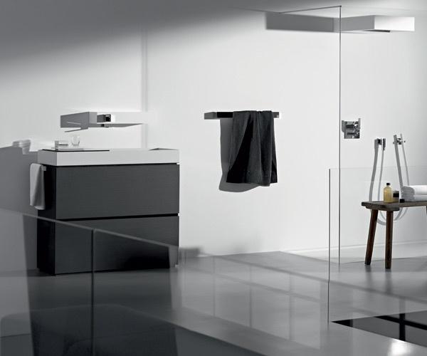 Mobile da bagno con lavabo da appoggio a terra metaphor alape - Lavabo angolare bagno ...