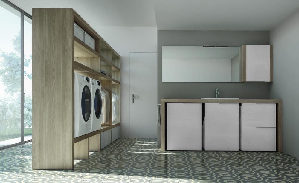 Mobili per arredo lavanderia spazio time ideagroup for Spazio arredo
