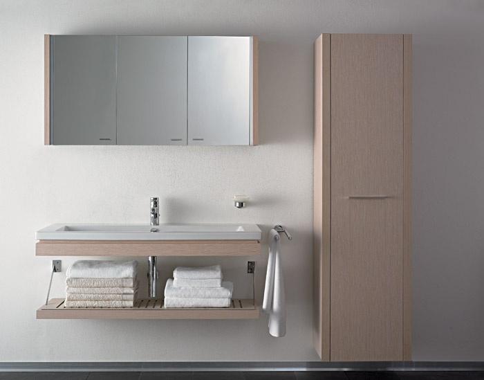Mobili da bagno 2nd floor duravit - Armadietti per bagno ...