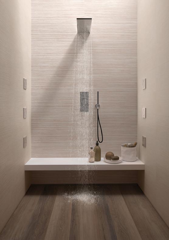 Pavimenti e rivestimenti effetto resina medley sand ceramiche supergres - Rivestimenti bagno resina ...