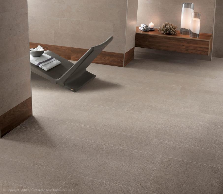 Pavimenti e rivestimenti in gres porcellanato seastone atlas concorde - Atlas concorde bagno ...