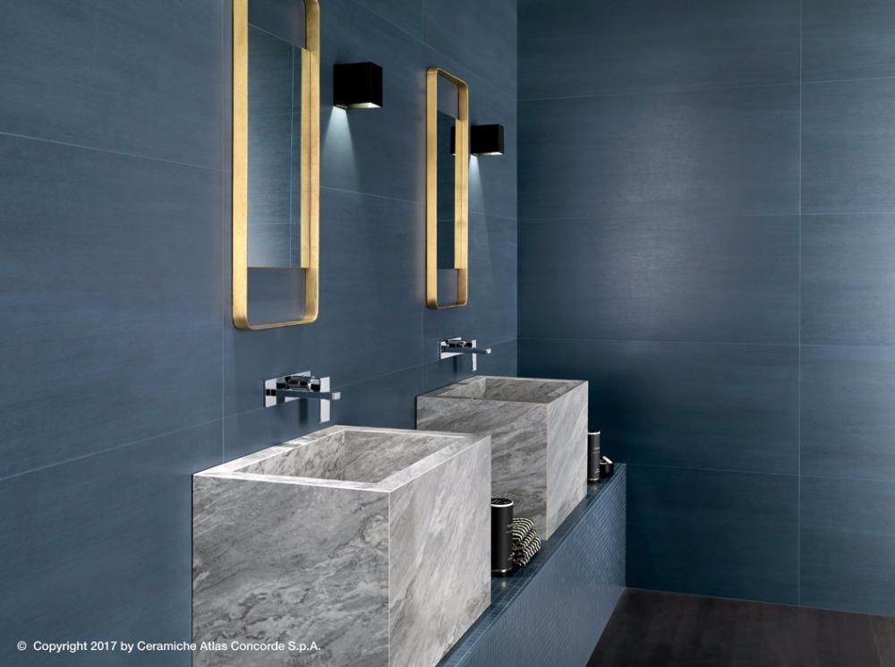Pavimenti e rivestimenti mek blue dark atlas concorde - Atlas concorde bagno ...