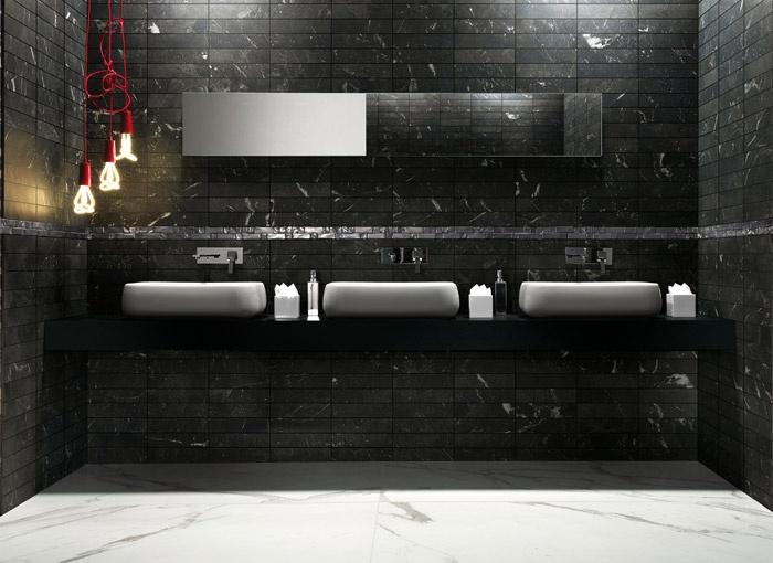 Pavimenti e rivestimenti effetto marmo roma imperiale statuario fap ceramiche - Bagno imperiale ...