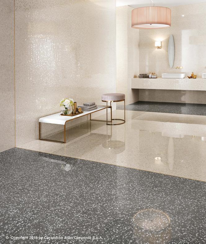 Pavimenti e rivestimenti effetto marmo veneziano marvel for Bagno effetto marmo