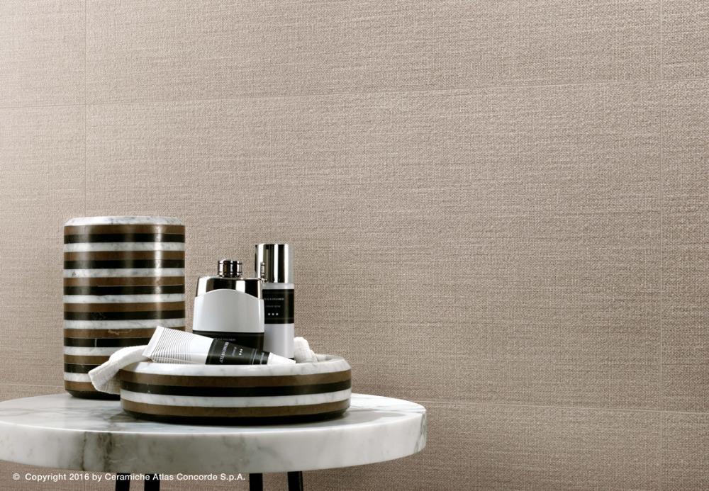 Pavimenti e rivestimenti effetto tessuto room cord atlas concorde